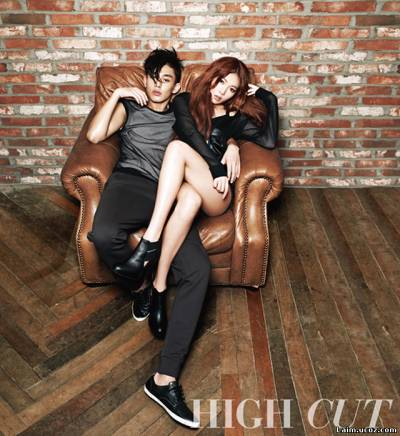 Yoo ah in is dirty and broody for w korea magazine